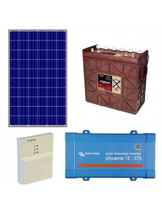 Kit Solar para casa fin de semana