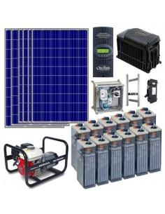 Kit Solar para vivienda con generador