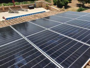 instalación de placas solares en porto cristo, mallorca